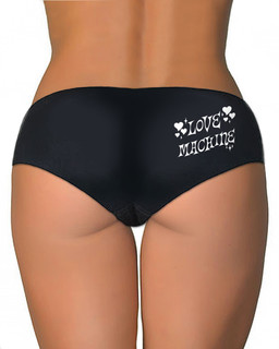 Love Machine - Booty Shorts Underwear Aesop Originals Clothing (Black)