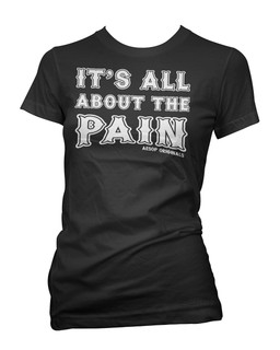 It's All About The Pain - Tee Shirt Aesop Originals Clothing (Black)