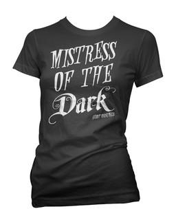 Mistress Of The Dark - Tee Shirt Aesop Originals Clothing (Black)