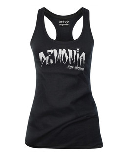 Demonia - Tank Top Aesop Originals Clothing (Black)