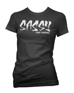 Sassy - Tee Shirt Aesop Originals Clothing (Black)