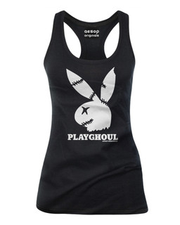 Playghoul Bunny - Tank Top Aesop Originals Clothing (Black)