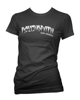 Psychopath - Tee Shirt Aesop Originals Clothing (Black)