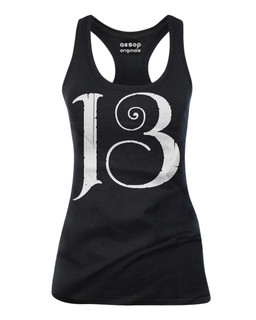 13 - Tank Top Aesop Originals Clothing (Black)