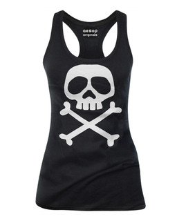 The Misfit Captain - Tank Top Aesop Originals Clothing (Black)