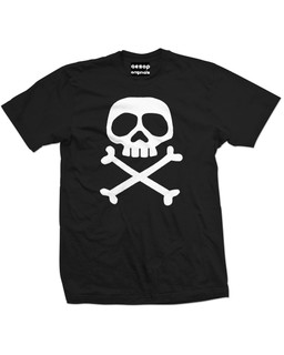 The Misfit Captain - Mens Tee Shirt Aesop Originals Clothing (Black)