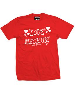 Love Machine - Mens Tee Shirt Aesop Originals Clothing (Red)