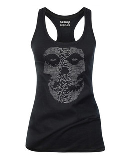 The Unknown Ghost - Tank Top Aesop Originals Clothing (Black)