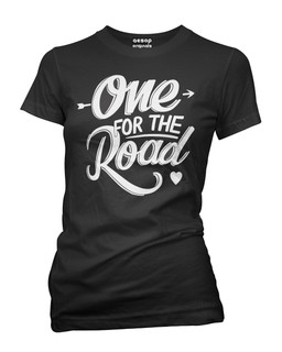 One For The Road - Tee Shirt Aesop Originals Clothing (Black)