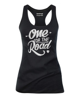 One For The Road - Tank Top Aesop Originals Clothing (Black)