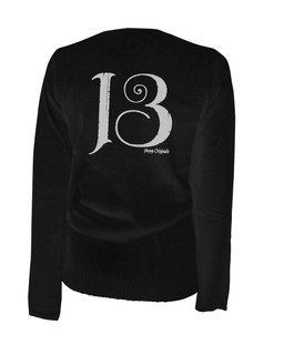 13 Thirteen - Cardigan Aesop Originals Clothing (Black)