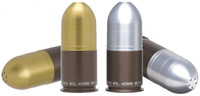 40mm GRENADE SALT & PEPPER SHAKERS