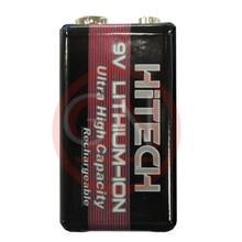 Hitech RLI-9600 9V Li-Ion Rechargeable Battery 600mAh