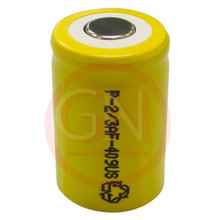 2/3 A Rechargeable Battery Ni-Cd 600mAh, Flat Top