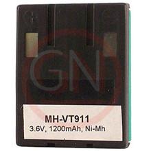 MH-VT9111 3.6V Ni-Mh Phone Battery for VTech 80-4280-00-00, 80-4134-02-00, VSB