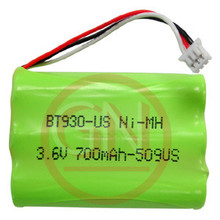 BT930 3.6V Ni-MH Phone Battery for Uniden ANA9310, ANA9320 / Toshiba DKT2304-CT