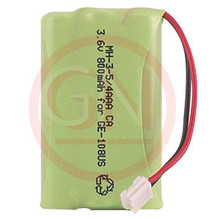 MH-3-5/4AAACA 3.6V Ni-Mh Phone Battery for GE 5-2628, 5-2660