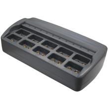 Hitech iC-109V 10-Bank Advanced Battery Charger for 9V Batteries