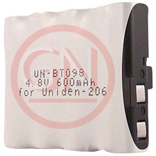 UN-BT098 4.8V Ni-Cd Battery for Uniden BBTY0345001, EXV-98, EXV-958 Cordless Telephone