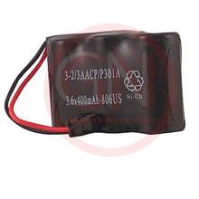 GN-3-1/2AACP 3.6V Ni-Cd Battery for  Panasonic KX-A36A, HHR-P301, P-P301