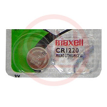 1 Maxell CR1220 3V Lithium Coin Cell Battery