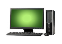 "HP Elite 8200 Desktop with 22"" LCD, Core i5-2400, 8GB RAM, 250GB HDD, Win 7 Pro, 1 Year Warranty - FREE DELIVERY"