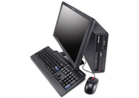 """Lenovo ThinkCentre M91p Desktop with 22"""" LCD, Core i5-2400, 4GB RAM, 250GB HDD, Win 7 Pro, 1 Year Warranty - FREE DELIVERY"""