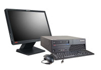 "Lenovo ThinkCentre M58 Desktop with 19"" LCD, C2D E8400, 4GB RAM, 160GB HDD, Win 7 Pro, 1 Year Warranty - FREE DELIVERY"