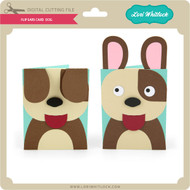 Flip Ears Card Dog