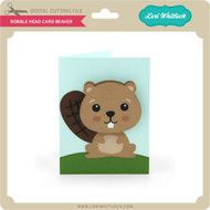 Bobble Head Card Beaver