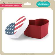 Heart Shaped Box Patriotic