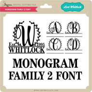 Monogram Family 2 Font