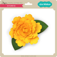 3D Flower 36