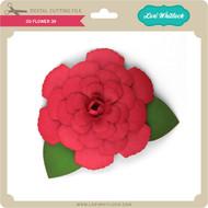 3D Flower 39