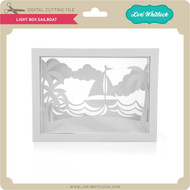 Light Box Sailboat
