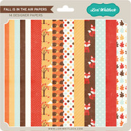 Pattern Fill Set Fall Is In The Air