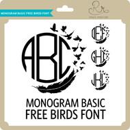 MonogramBasic Freebirds Font