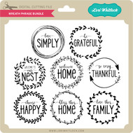 Wreath Phrase Bundle