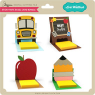 Sticky Note Easel Card Bundle