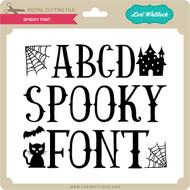 Spooky Font