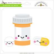 So Much Pun -  Pill Bottle