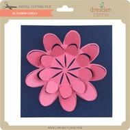 3D Flower Card 5