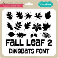 Fall Leaf 2 Dingbats Font
