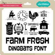 Farm Fresh Dingbats Font