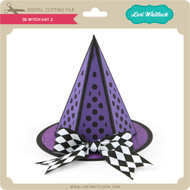 3D Witch Hat 2