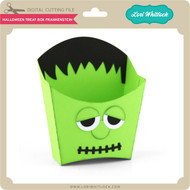 Halloween Treat Box Frankenstein