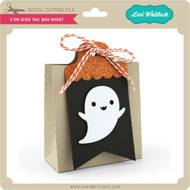2 on 12x12 Tag Bag Ghost