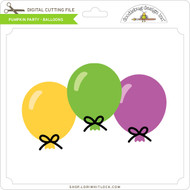Pumpkin Party - Balloons