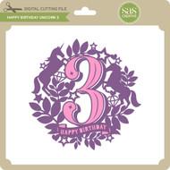 Happy Birthday Unicorn 3