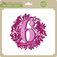 Happy Birthday Unicorn 6